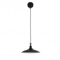 Лампа LANG подвесная черная E27, Faro