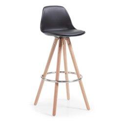 Барный стул Stag черный, La Forma (ex Julia Grup)