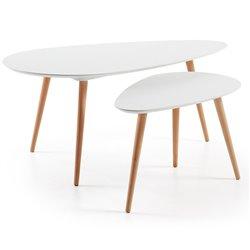 Два столика Brick, La Forma (ex Julia Grup)
