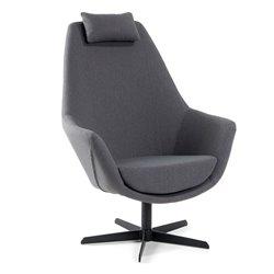 Кресло Trebor темно-серое CC0019J15, La Forma (ex Julia Grup)