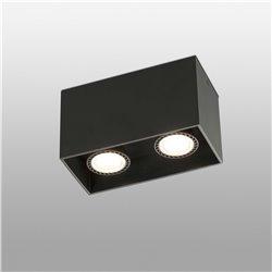 Светильник Tecto черный 2xGU10 50W, Faro