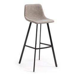 Барный стул Andi светло-серый CC0254UE85, La Forma (ex Julia Grup)