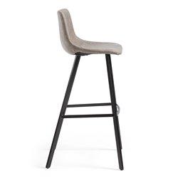 Барный стул Andi бежево-серый, La Forma (ex Julia Grup)