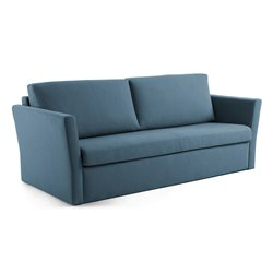 WESTRIVER Диван-кровать 160 visco матрас, синий S484BU26, La Forma (ex Julia Grup)