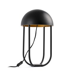 JELLYFISH Настольная лампа черно-золотая 6W 3000K, Faro