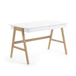 Стол письменный Ingo 120x70 белый, La Forma (ex Julia Grup)
