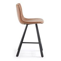 Полубарный стул Trac коричневый, La Forma (ex Julia Grup)