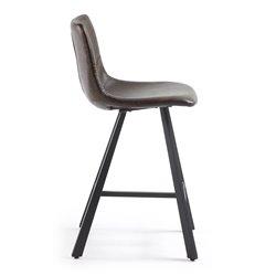 Полубарный стул Trac темно-коричневый, La Forma (ex Julia Grup)