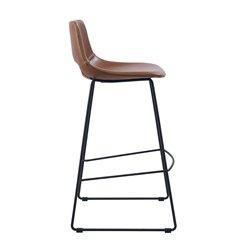 Барный стул Ziggy коричневый, La Forma (ex Julia Grup)