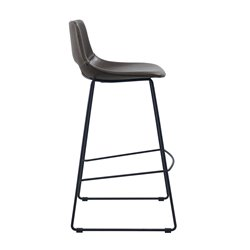 Барный стул Ziggy темно-коричневый, La Forma (ex Julia Grup)