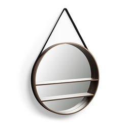 Зеркало Benton Ø58,5 ореховый шпон, La Forma (ex Julia Grup)