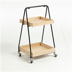 Боковой стол FORTUNE шпон CC0758E01, La Forma (ex Julia Grup)