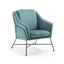 Кресло Brida бархат зеленый, La Forma (ex Julia Grup)