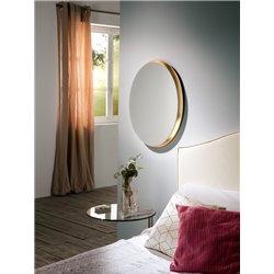 Зеркало Aries овальное 54x64 золото, Schuller