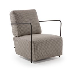 Кресло Gamer ткань коричневая, La Forma (ex Julia Grup)