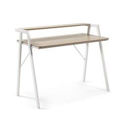 Письменный стол Aarhus 114,5x60 серый дуб, La Forma (ex Julia Grup)