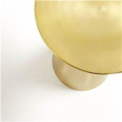 Приставной столик Rhet золотой, La Forma (ex Julia Grup)
