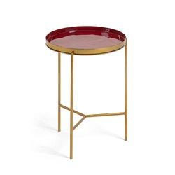 Стол приставной Naoko эмаль бордовый, La Forma (ex Julia Grup)