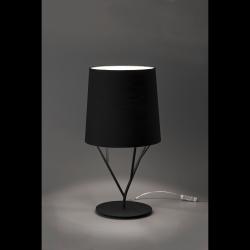 Настольная лампа Tree черная, Faro