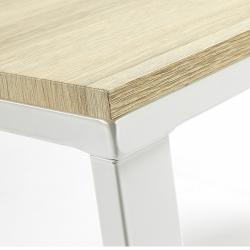 Письменный стол Lisbet белый, La Forma