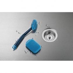 Набор из 2 щеток для мытья посуды cleantech синий, Joseph Joseph