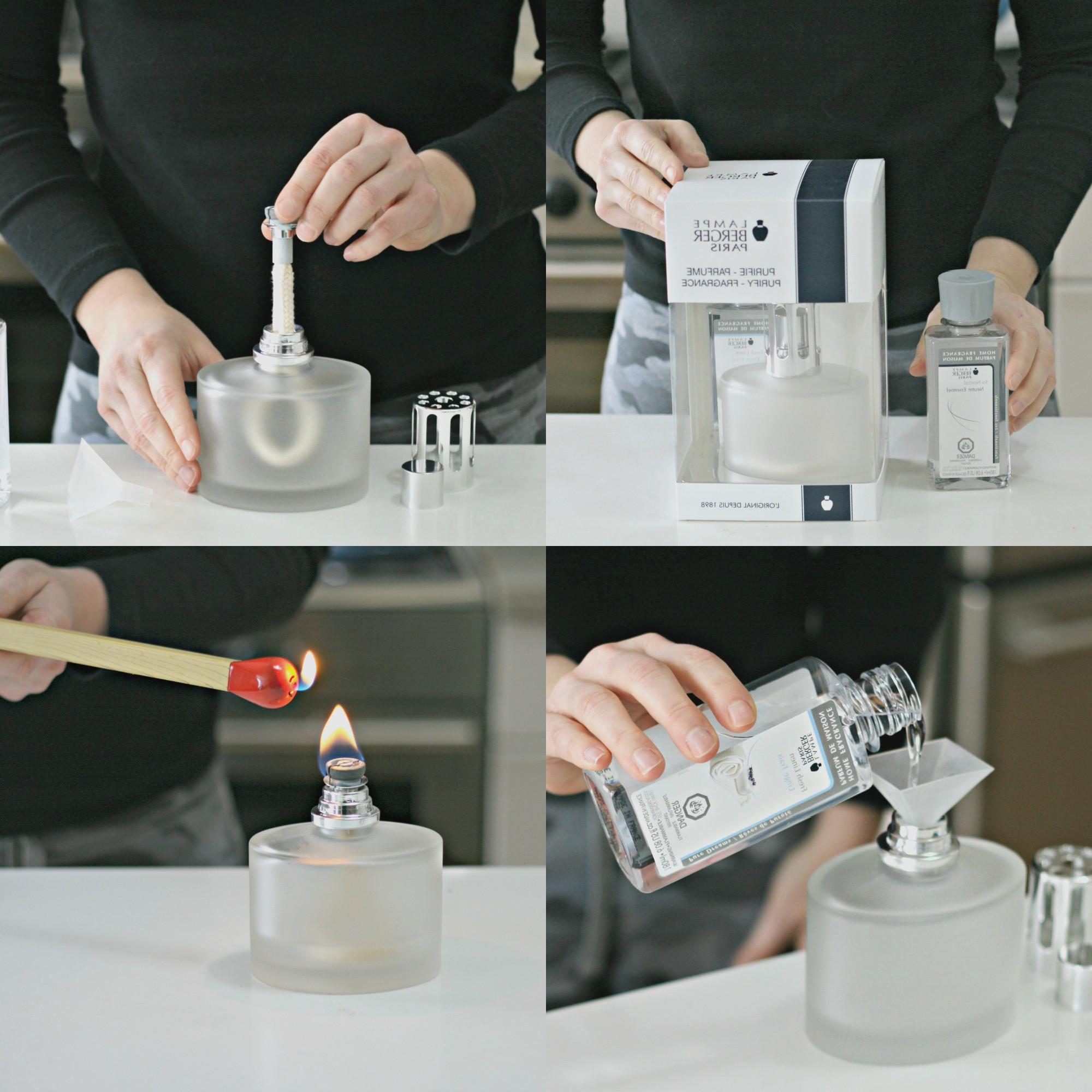 Lamp Berger инструкция в фото.