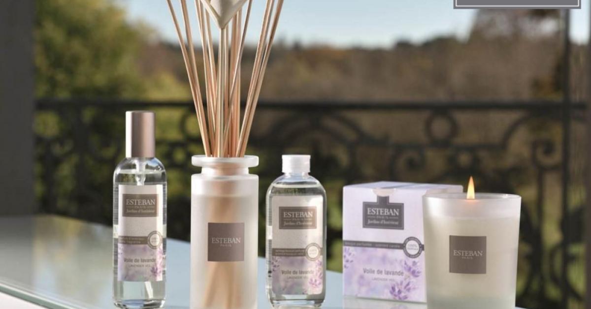Разнообразие продукции Esteban Parfums для дома