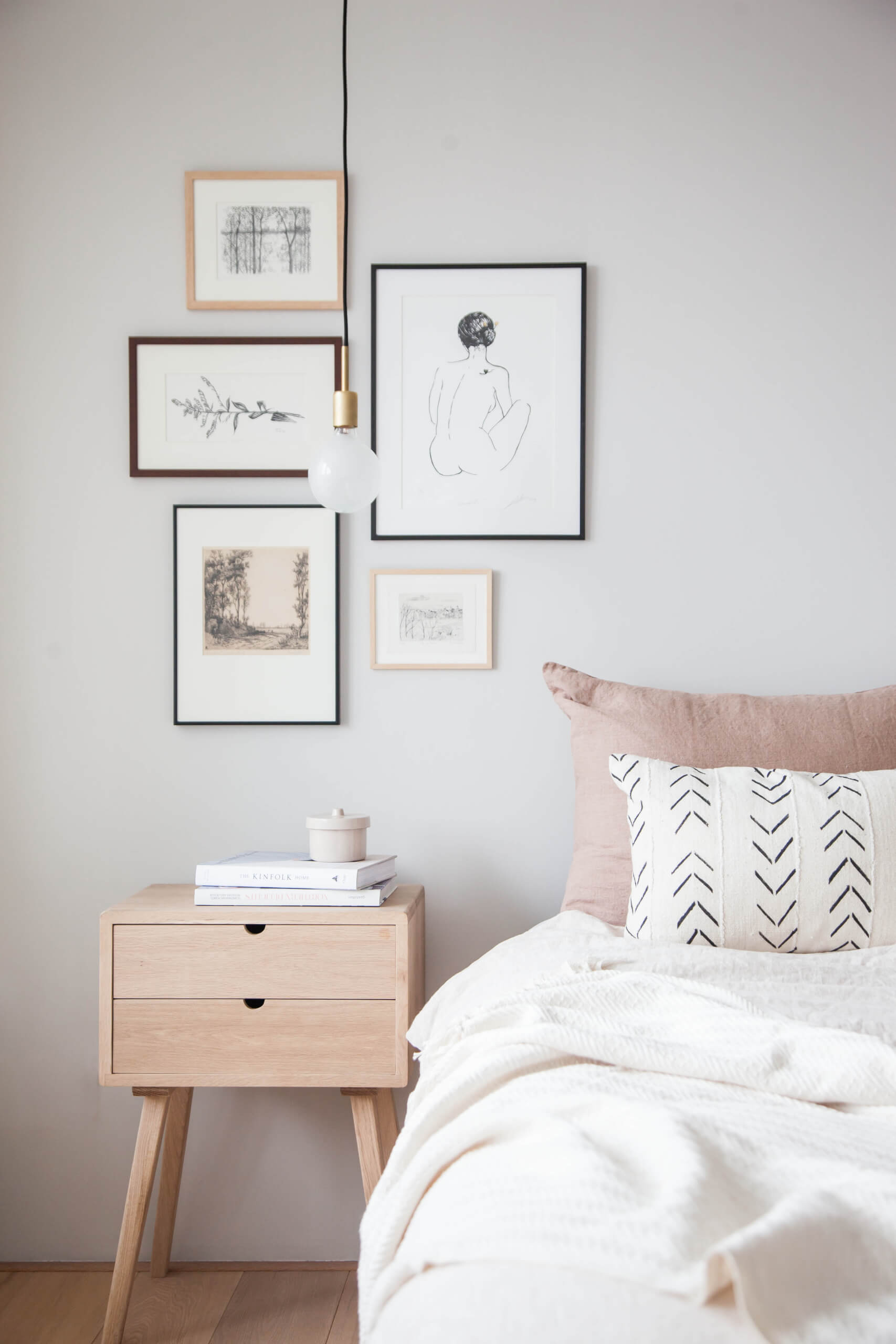 NONAGON-style-n9s-interior-hacks-better-nights-sleep-home-bedroom-bed-gallery-wall-art-picture-illustration