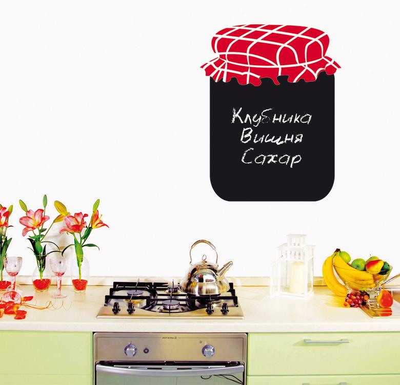 Наклейка для кухни для записей Джем